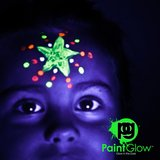 GLOW IN THE DARK Face & Body Paint 10 x 13 ml_