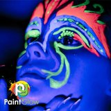 50 ml Gesicht & Körper UV Farbstoff - Set von 60 Tubes_