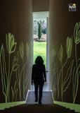 Glow in the Dark Wand und Materialfarbe_