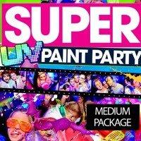 Neon Paint Party Paket  2 - Bis zu 200 Personen