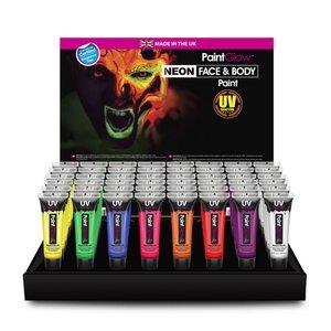 13 ml Gesicht & Körper UV Farbstoff - Set von 60 Tubes